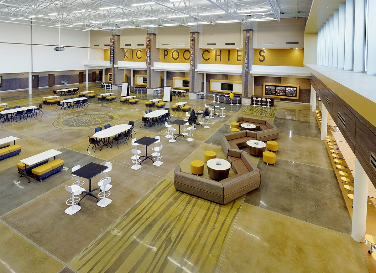 Kickapoo High School Student Center