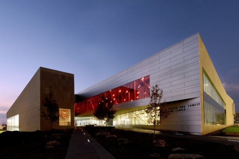 LEED Silver Missouri State University Foster Recreation Center